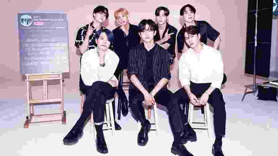 O grupo de k-pop GOT7 - Reprodução/Instagram
