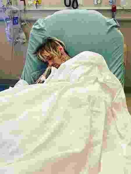Aaron Carter é levado ao hospital depois de perder 20 quilos - Reprodução/Instagram