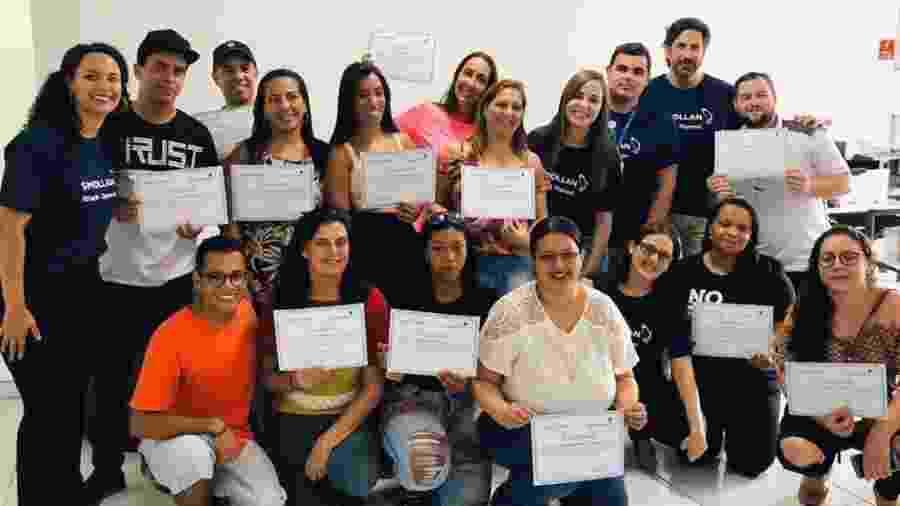 A unidade da Rede Gerando Falcões na Vila Prudente busca proporcionar qualificação profissional para moradores da comunidade; 470 jovens e adultos já foram treinados pela entidade - Divulgação