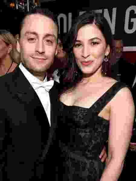 Jazz Charton e Kieran Culkin - Getty Images