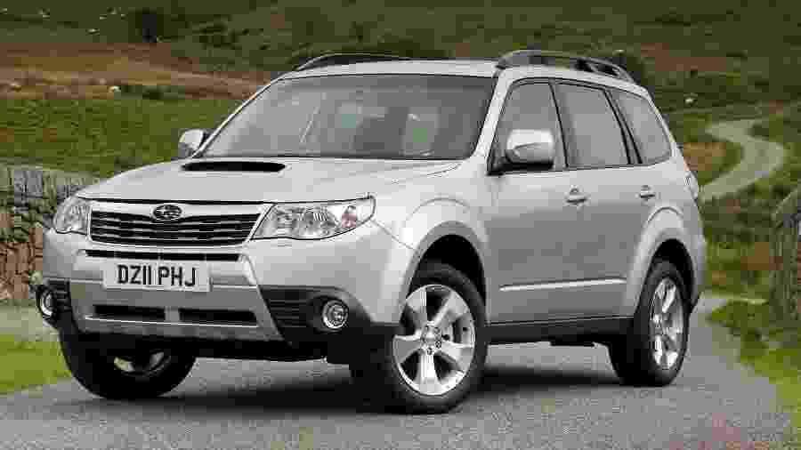 Forester é um dos veículos convocados; recall afeta exemplares ano/modelo 2009 a 2012 do utilitário - Divulgação