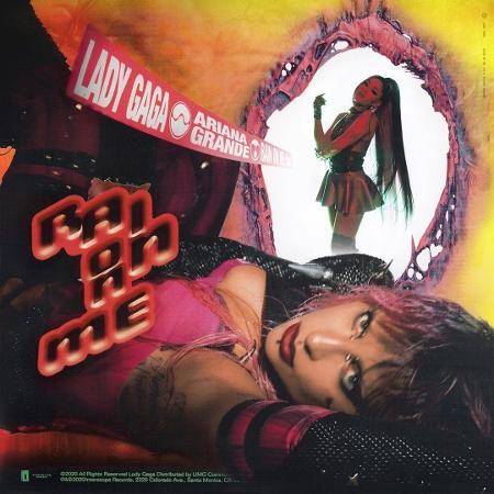 """Capa do single """"Rain on Me"""" - Divulgação"""