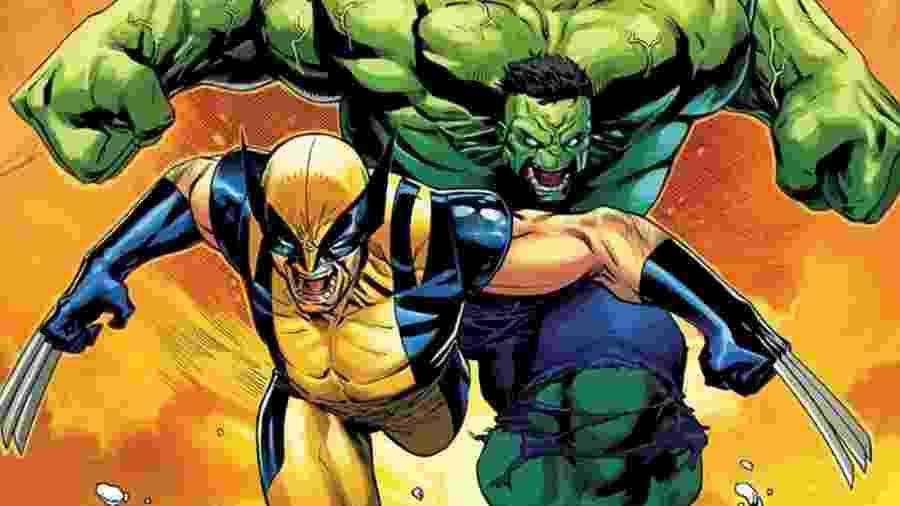 Hulk e Wolverine deram cria na Marvel - Reprodução/Marvel