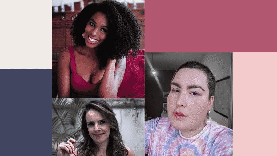 As colunistas de Universa Xan Ravelli, Ana Canosa e Maqui Nóbrega falam de sexo e relacionamento - Divulgação/ Universa