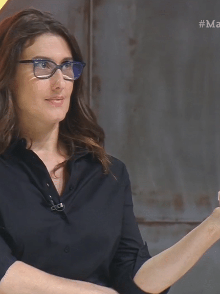 Paola Carosella no Masterchef 2020 - Reprodução
