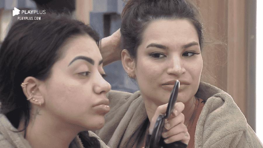 A Fazenda 2020: Raissa Barbosa conversa com MC Mirella sobre seu retorno da roça - Reprodução/RecordTV
