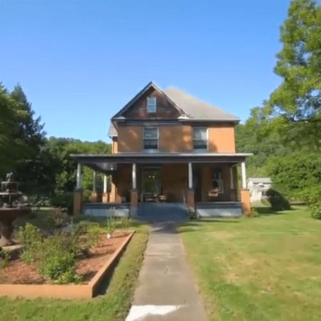 """A fachada da casa onde foi filmado o clímax de """"O Silêncio dos Inocentes"""", nos EUA - Reprodução - Reprodução"""