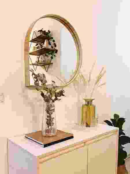 Espelho Gota Orvalho - Arquivo Pessoal - Arquivo Pessoal