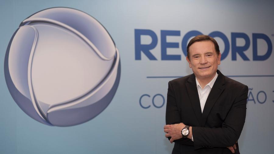 Roberto Cabrini acertou um novo contrato com a Record TV - Divulgação