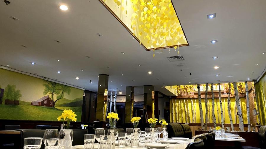 O restaurante Tia Dai, em Montreal - Feigang Fei