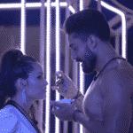 BBB 21: Juliette e Arcrebiano na primeira festa do reality - Reprodução/Globoplay