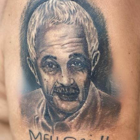 Zezé di Camargo compartilha tatuagem em homenagem ao pai, Francisco - Reprodução/Instagram