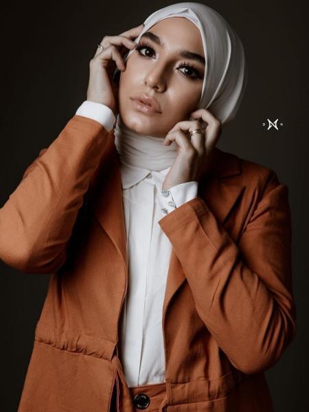 Mariam Chami usa o perfil @mariamchami para divulgar a cultura islâmica - arquivo pessoal