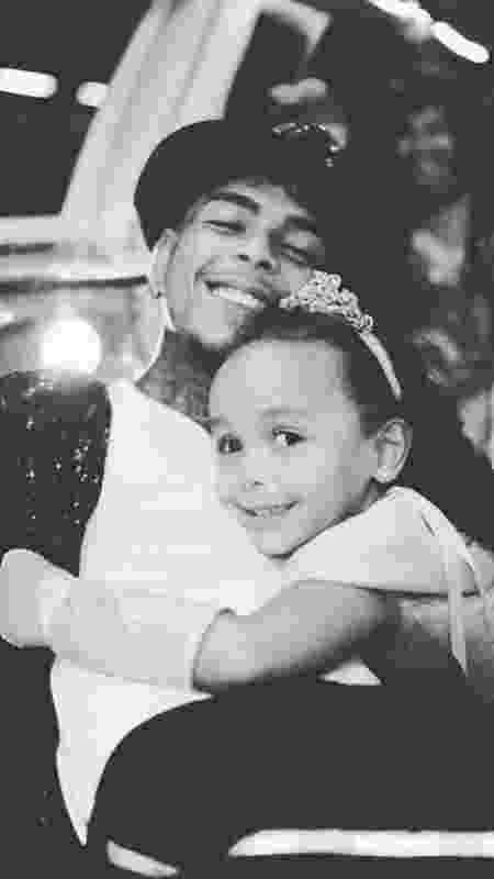 MC Kevin e a filha, Soraya - Reprodução/Instagram - Reprodução/Instagram