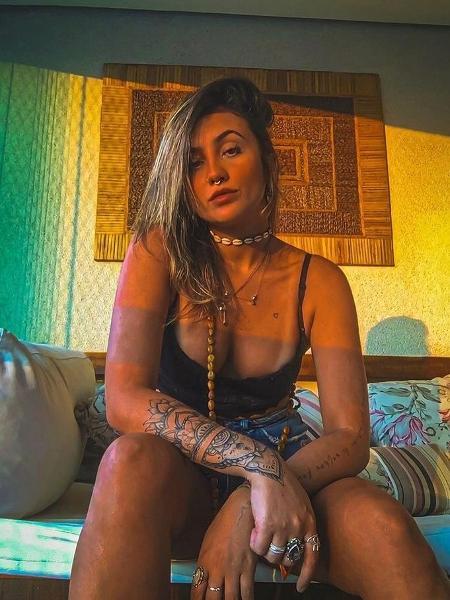 Andressa participou de um menage com um casal de amigos após uma balada - Acervo pessoal