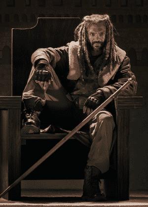 O rei Ezekiel, interpretado pelo ator Khary Payton - Divulgação/Fox