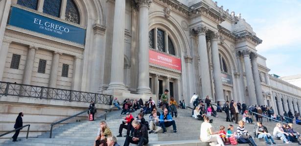 Metropolitan Museum of Art, em Nova York, tem programa de exercícios entre obras de arte - Getty Images