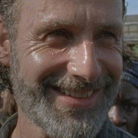 """Rick Grimes (Andrew Lincoln) em cena da sétima temporada de """"The Walking Dead"""" - Reprodução/AMC"""