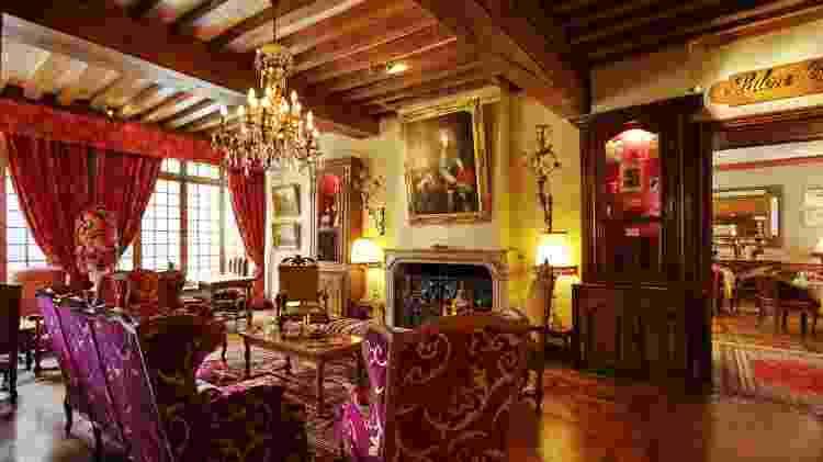 Interior de um dos ambientes do hotel Le Cep, em Beaune, na França - Divulgação/Le Cep - Divulgação/Le Cep
