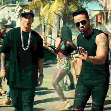 """Daddy Yankee e Luis Fonsi no clipe de """"Despacito"""" - Reprodução"""