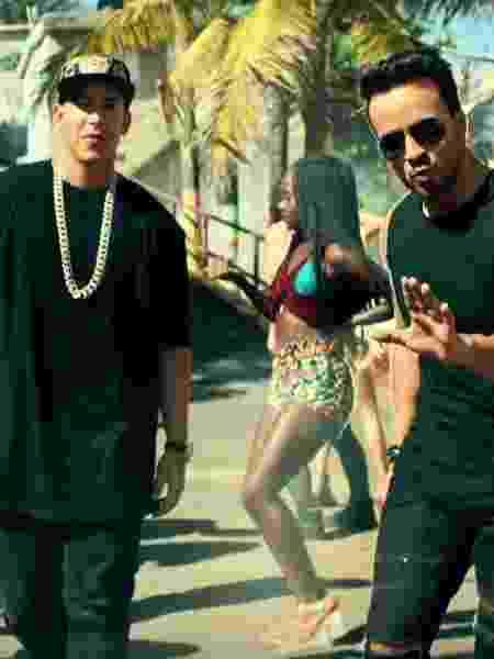 """Daddy Yankee e Luis-Fonsi no clipe de """"Despacito"""" - Reprodução - Reprodução"""
