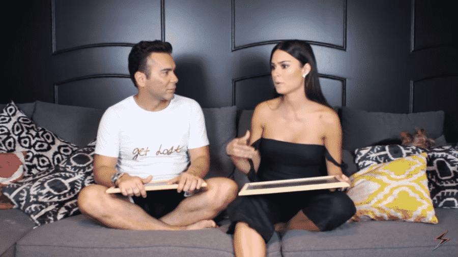 Thaila Ayala é entrevistada por Matheus Mazzafera - Reprodução/YouTube