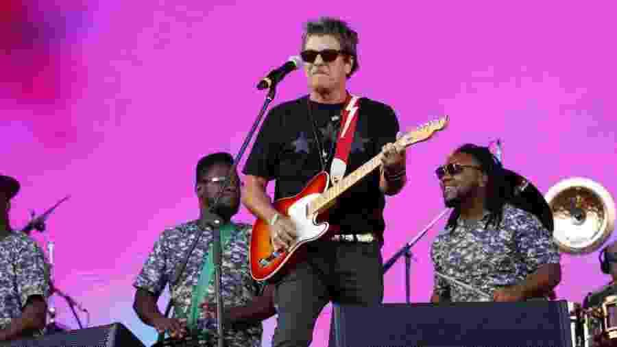 Evandro Mesquita no show da Blitz no Rock in Rio - Marcos Ferreira/Brazil News