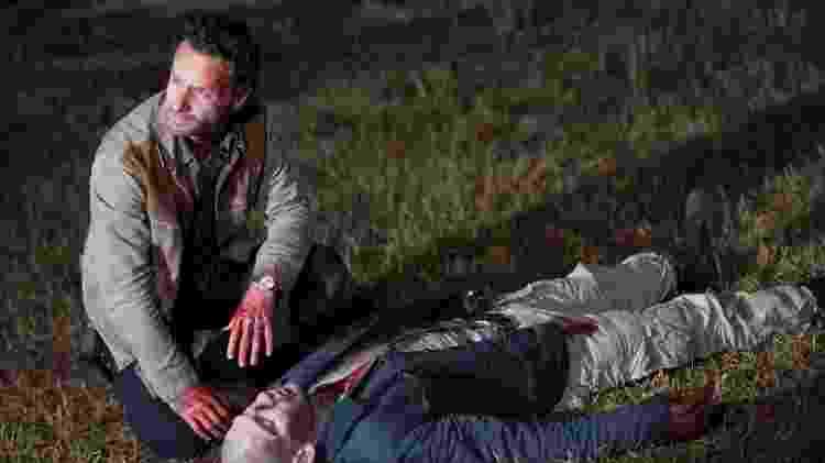 Morte Walking Dead Shane - Reprodução/AMC - Reprodução/AMC