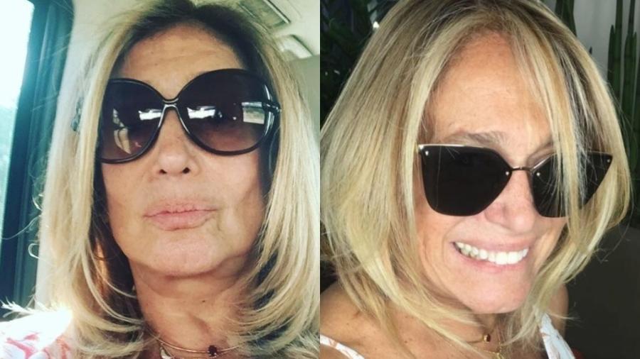Antes e depois de Susana Vieira - Reprodução/Instagram/susanavieiraoficial