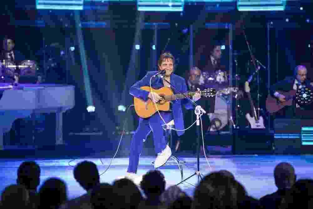 Roberto Carlos grava especial de fim de ano da Globo - Reprodução/Gshow