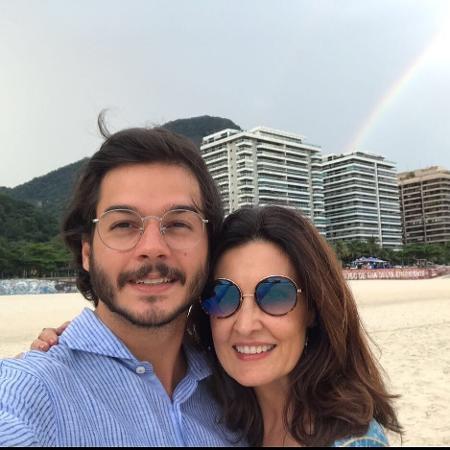 Fátima Bernardes e Túlio Gadelha   - Reprodução/Instagram/fatimabernardes