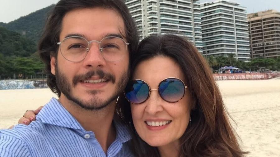 Fátima Bernardes posa com o namorado Túlio Gadelha - Reprodução/Instagram/fatimabernardes