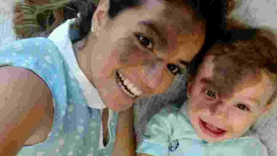 Carol Giraldelli e o filho, Enzo - Instagram
