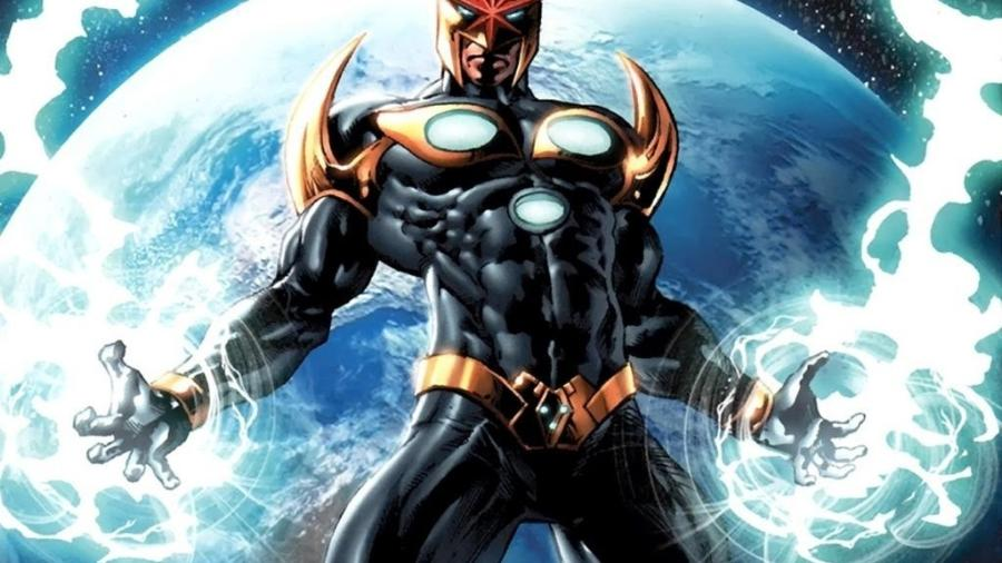 """Super-Herói Nova deve aparecer no filme """"Guardiões da Galáxia 3"""" (2020) - Reprodução"""