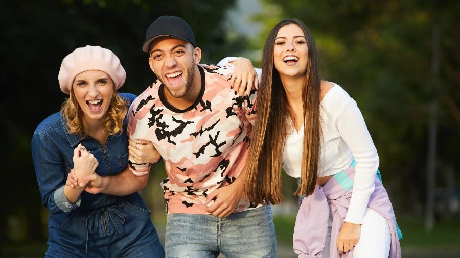 """""""Só Pra Parodiar"""" terá apresentação de Lucas Rangel e das meninas do """"Depois das 11"""", Gabie e Thalita - Divulgação/Multishow"""