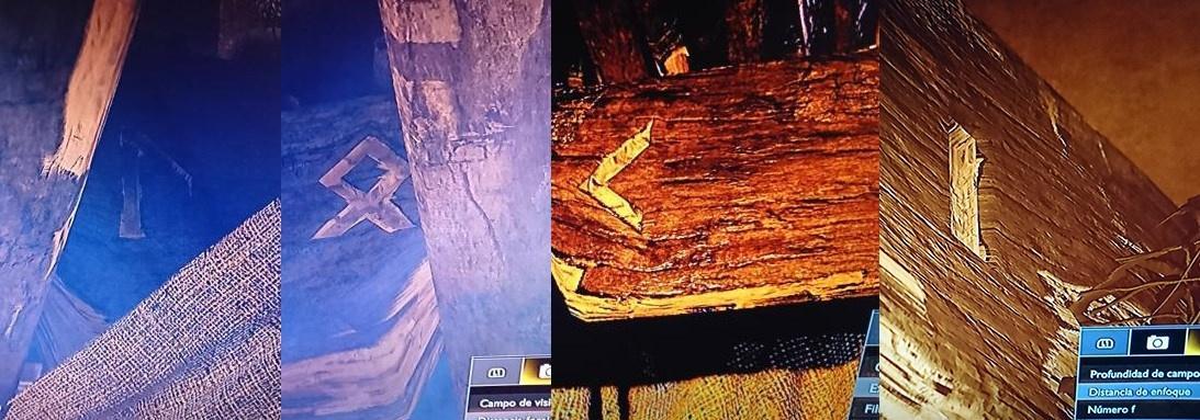 Runas na casa de Kratos