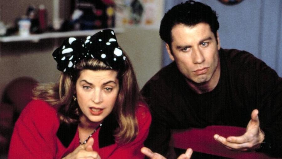 John Travolta e Kirstie Alle - Reprodução/IMDB
