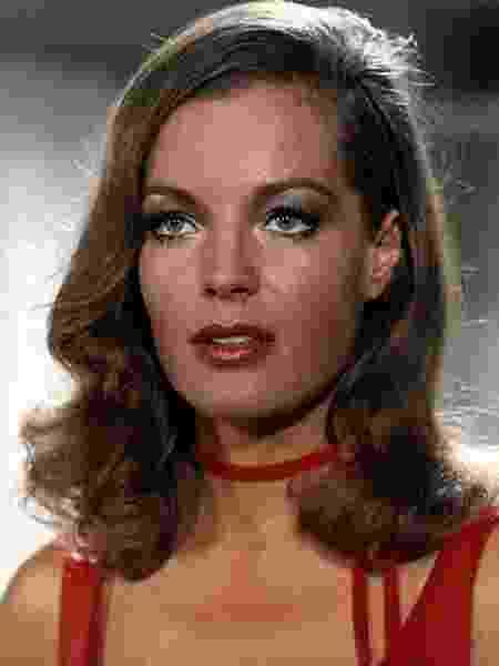 A atriz Romy Schneider (1938-1982) - Reprodução