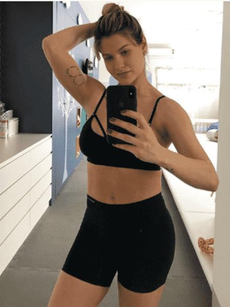Andressa Suita volta a malhar - Reprodução/Instagram