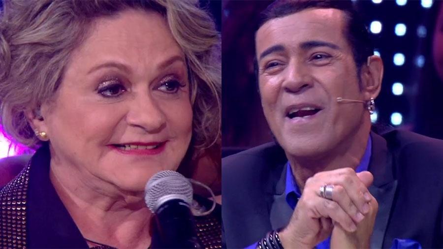 Fafy Siqueira e Elymar Santos foram noivos no passado - Reprodução/Globo