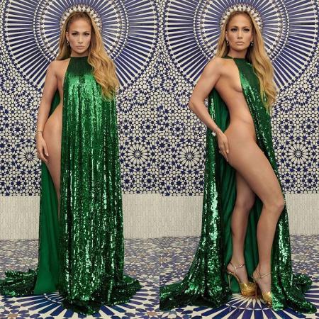 Jennifer Lopez da InStyle - Reprodução