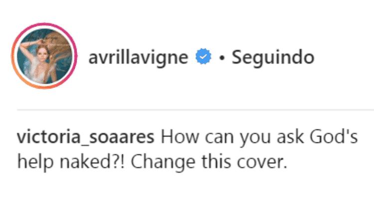 Avril - Reprodução/Instagram - Reprodução/Instagram