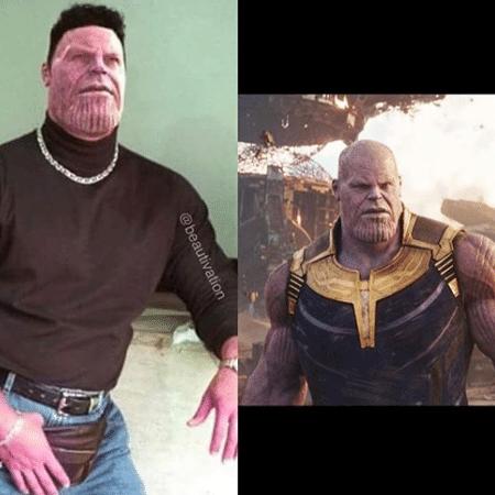 """Thanos participa do """"Desafio dos 10 anos"""" - Reprodução/Instagram/JoshBrolin"""