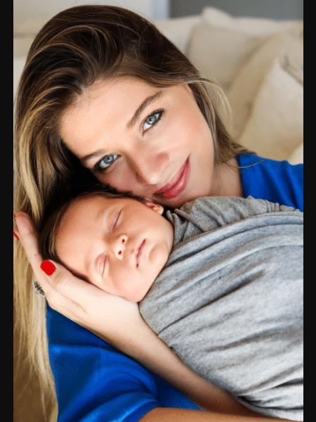 Luma Costa com o filho caçula, Eduardo - reprodução/Instagram