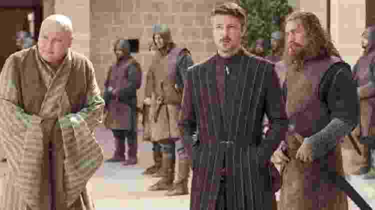 Personagens masculinos no episódio 7 da primeira temporada; ele teve menos de 20% de falas femininas - HBO/Sky Atlantic - HBO/Sky Atlantic