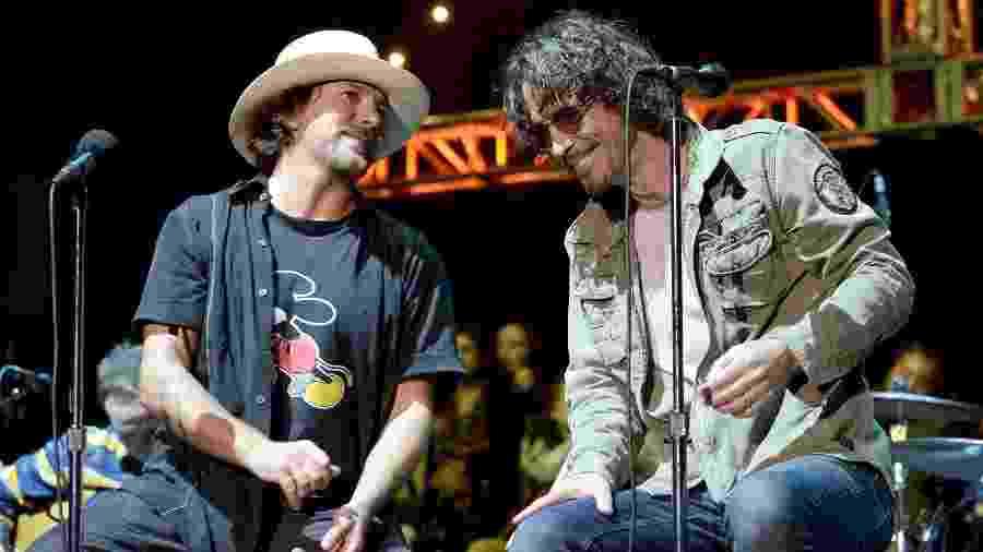 Eddie Vedder e Chris Cornell - Divulgação