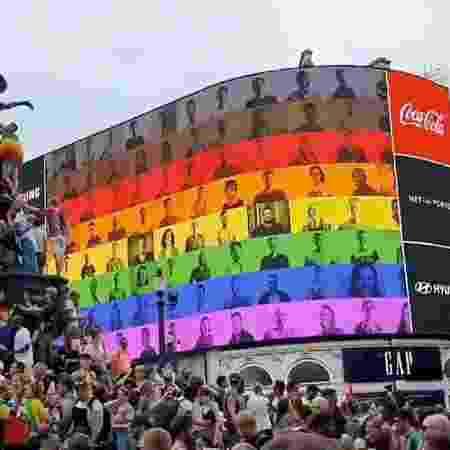 Parada LGBTQ+ em Londres - AFP