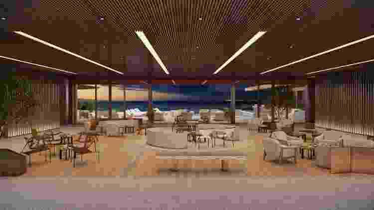 Com projeto de Patricia Anastassiadis, o Fairmont Copacabana, primeiro hotel da marca na América do Sul, terá decoração inspirada no glamour carioca dos anos 50 - Divulgação/ Tadeu Brunelli