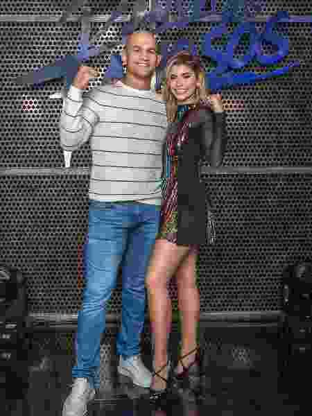 Júnior Cigano e Ana Paula Guedes - Globo/Fabio Rocha