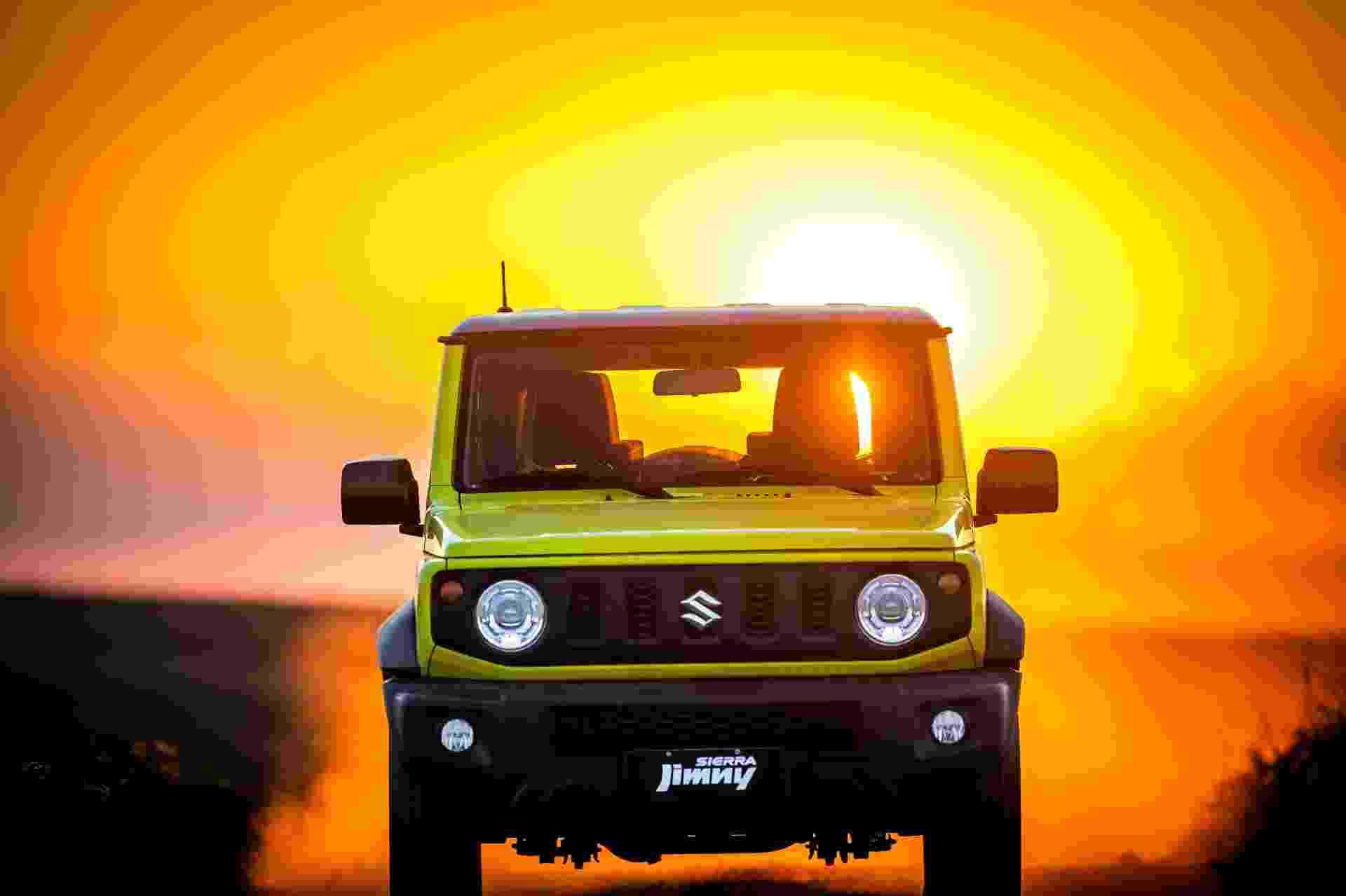 Suzuki Jimny Sierra  - Divulgação
